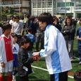 ラン サッカー教室初参加