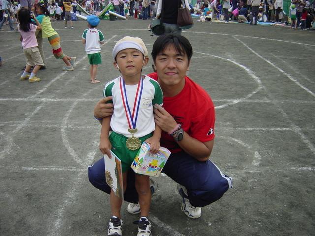 2003年 ラン 年長の運動会