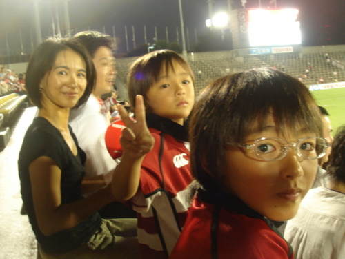8_10_07 日本代表対アジアバーバリアンズ@秩父宮